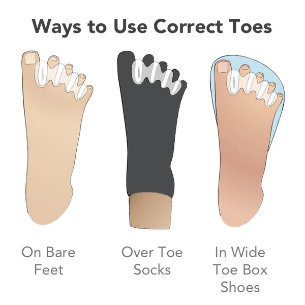 how to get narrow feet