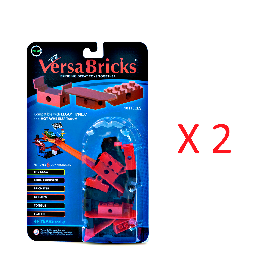 18 Piece Pack x 2, Versa Bricks (Free Shipping within USA)