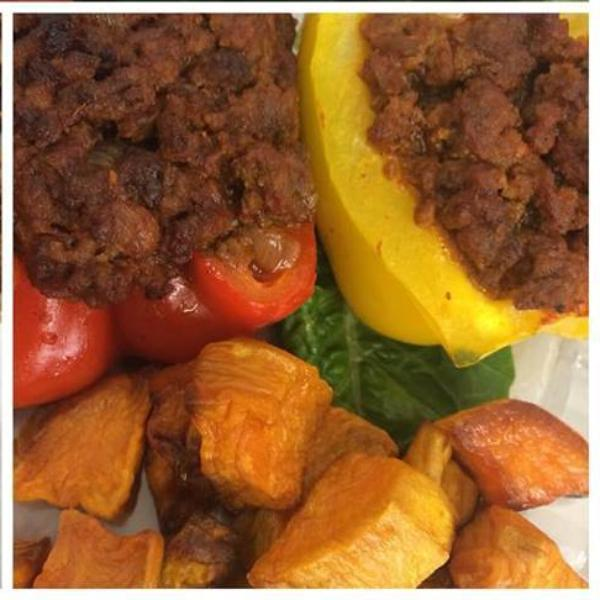 Sloppy Joe Stuffed Bell Peppers - Family Meal