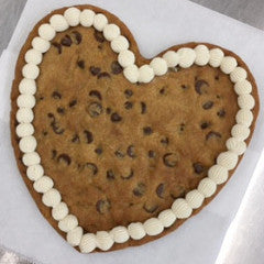 Cookie Heart- Chocolate Chip