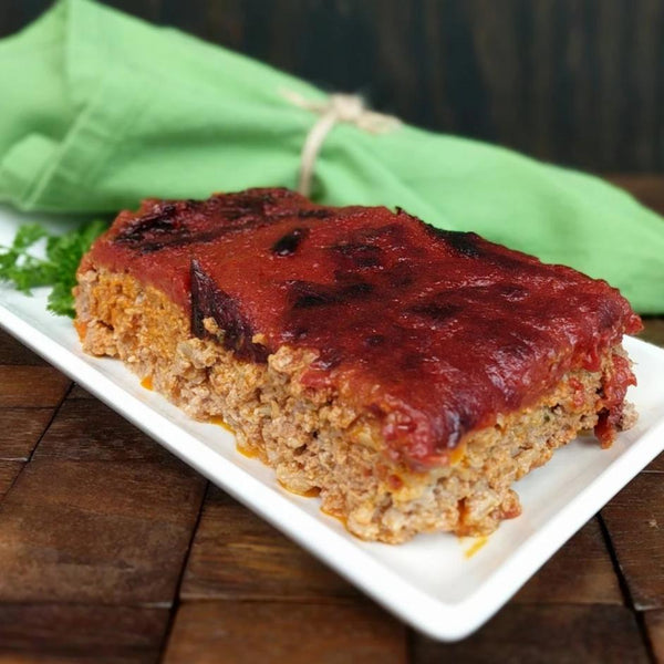 Meatloaf (local grass-fed ground beef)