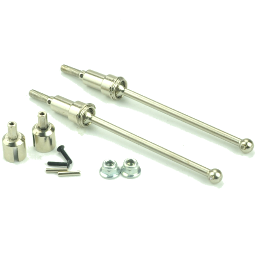 Redcat Racing Rear CVA Shaft(metal)+nuts+screws+wheel pins+Diff. Outdrive Cups(metal) 12711C
