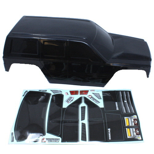 Redcat Racing Everest Gen7 Black Body Shell 13827-V1-B