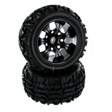 Redcat Racing Volcano EPX Wheels and Tires 12mm Hex 20126