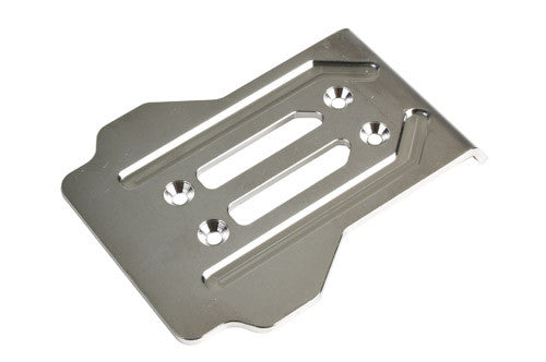Redcat Racing TR-MT8E CNC Machined Stainless Rear Chassis Guard 505229