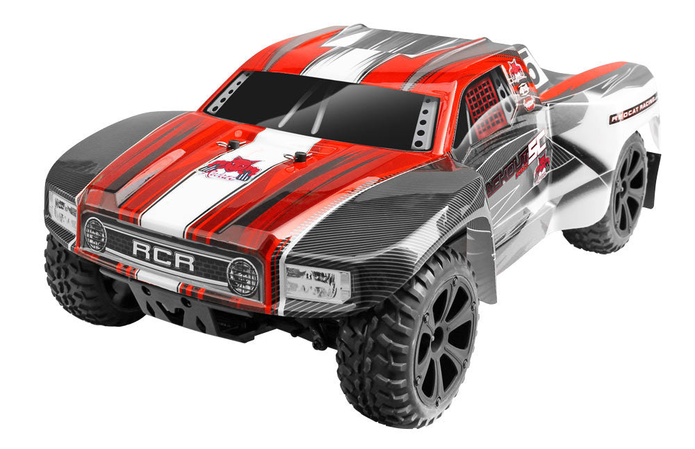 Redcat Racing Blackout SC Pro 1/10 Scale Brushless 4x4 Short Course Red Truck