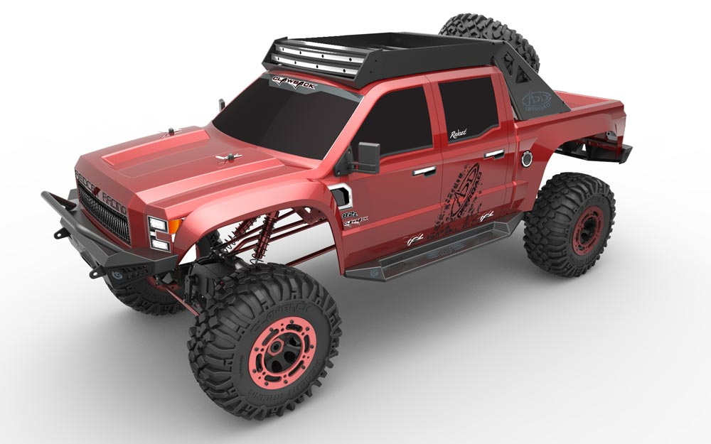 Redcat Racing Clawback 1/5 Scale Rock Crawler Red RTR