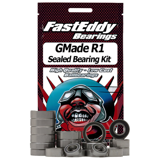 Fast Eddy GMade R1 Rubber Sealed Bearing Set