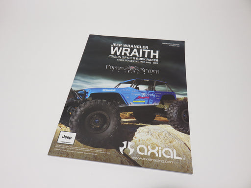 Axial Wraith Poison Spyder Instruction Manual