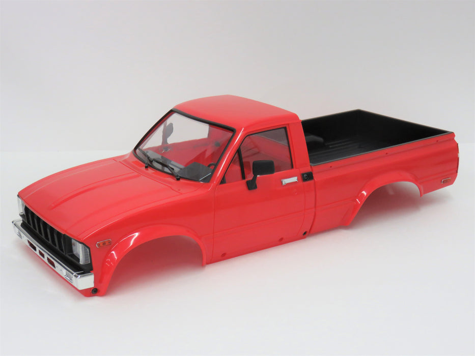 RC4WD Trail Finder 2 TF2 Mojave II Red Body With Back Panel