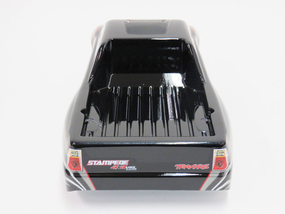 Traxxas Stampede 4x4 VXL Black Painted Body With Decals