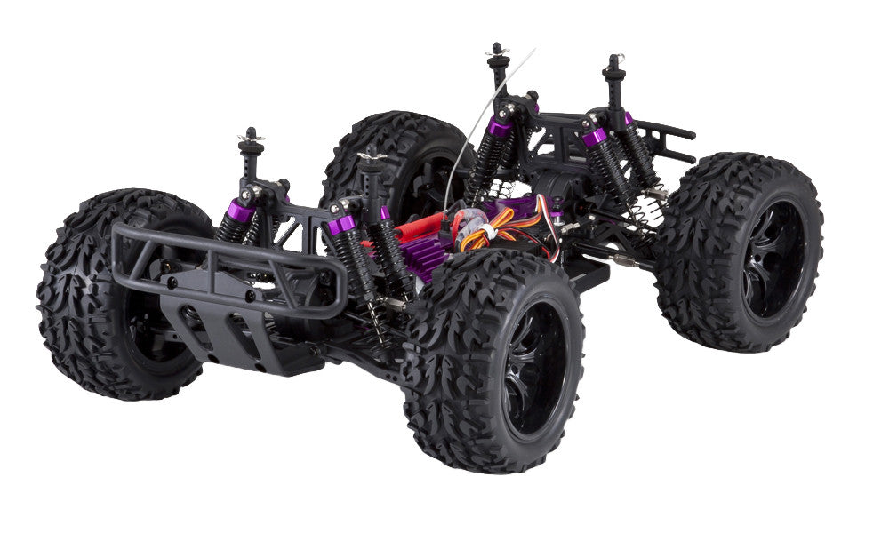 Redcat Racing Volcano EPX 1/10 Scale Electric Monster Truck Blue/Silver