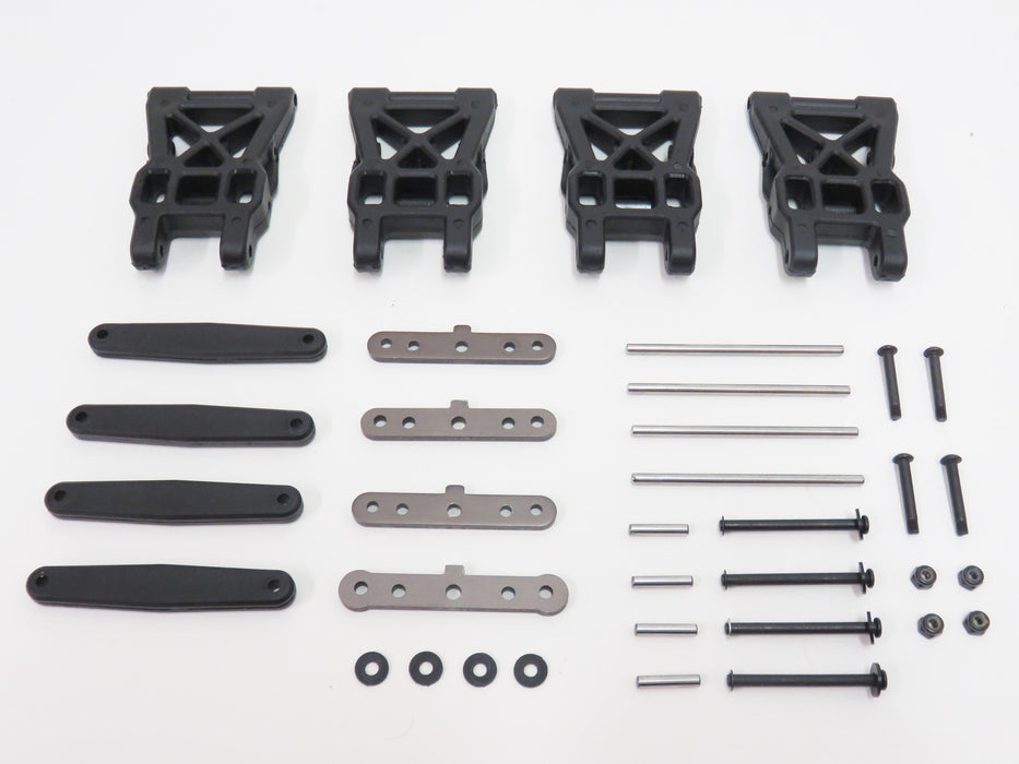 HPI Savage XS Mini Front & Rear Suspension A-Arms Set With Hinge Pin Set