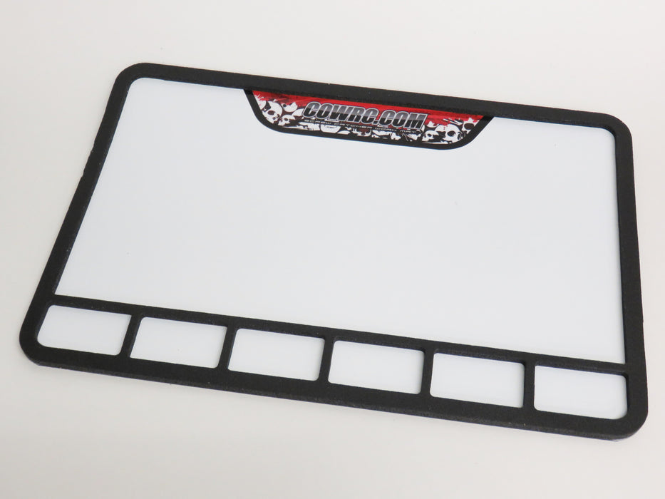CowRc Pro-Mag Screw Catcher Work Mat Medium 12x18 With USA Decal
