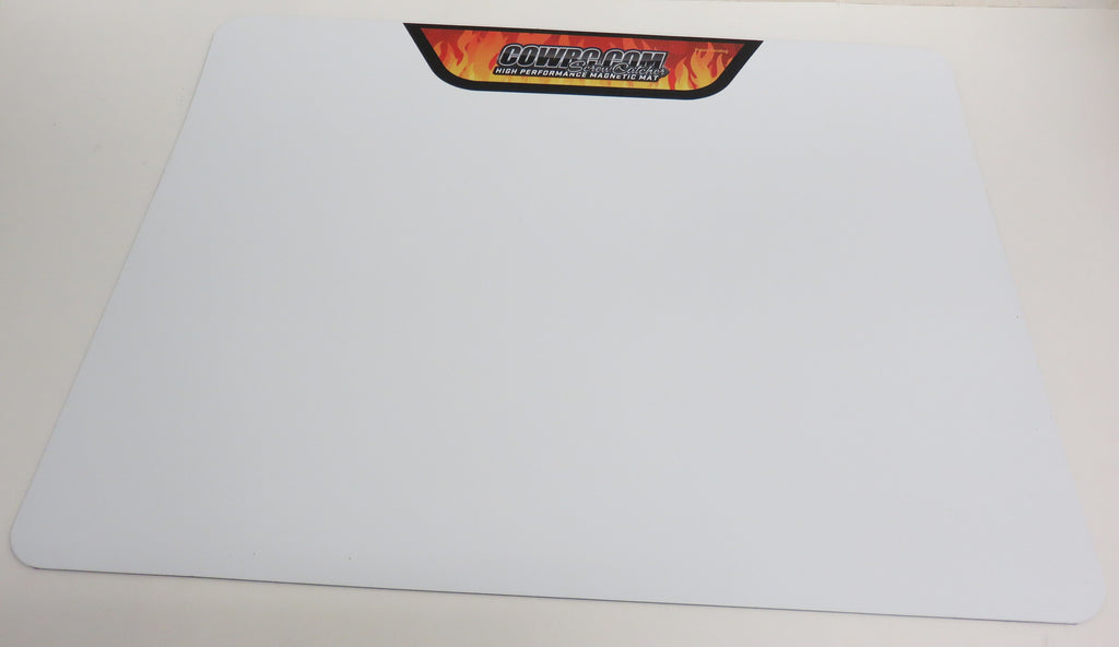 CowRC Pro-Mag Large Screw Catcher Flat Mat With Flame Decal