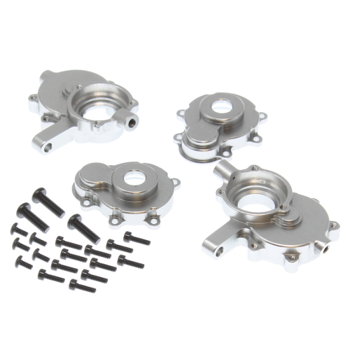 Aluminum front outer portal housing set. RER11406