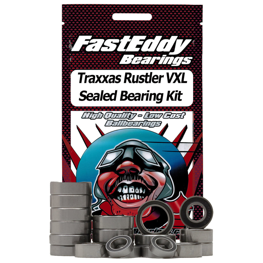 Fast Eddy Traxxas Rustler VXL Sealed Bearing Kit