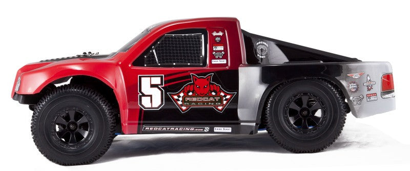 Redcat Racing Aftershock 3.5 1/8 Scale Nitro Desert Truck Red
