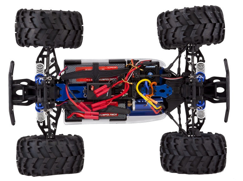 Redcat Racing Earthquake 8E 1/8 Scale Brushless Red Monster Truck RTR