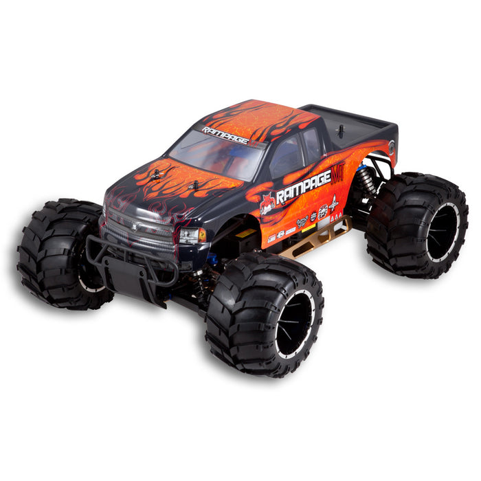 Redcat Racing Rampage MT V3 1/5 Scale 32cc Gas Monster Truck Orange Flame