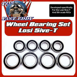 Fast Eddy Losi 5ive-T Wheel Bearing Set