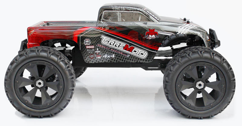Redcat Racing Terremoto V2 1/8 Scale Brushless Electric Monstor Truck Red