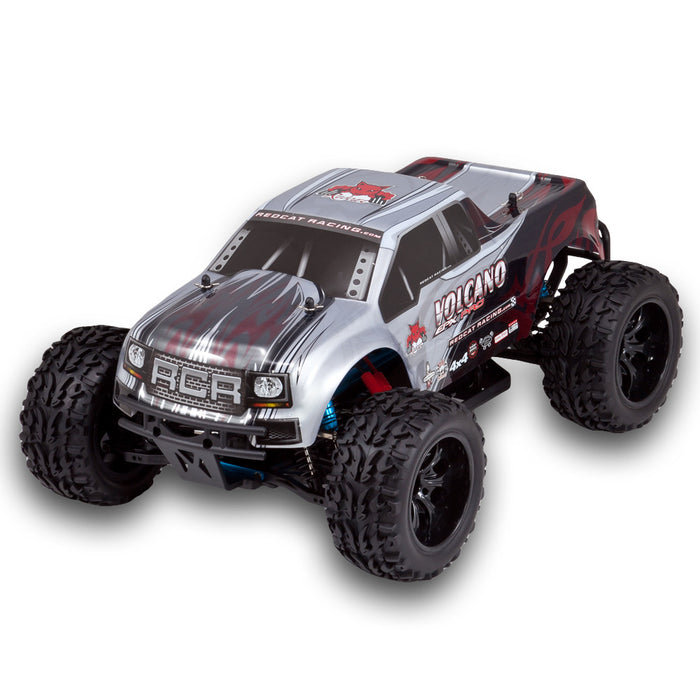 Redcat Racing Volcano EPX PRO 1/10 Scale Electric Brushless Monster Truck Silver