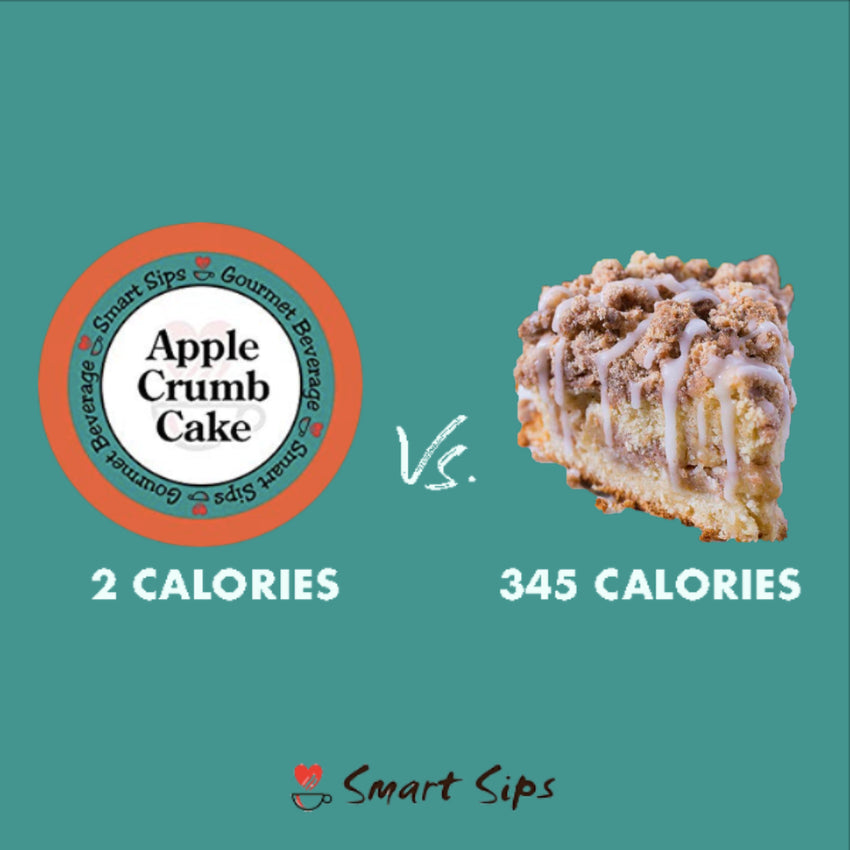 smart sips coffee apple crumb cake keurig kcup