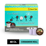 Cinnamon Roll Coffee, Single Serve Cups for Keurig K-cup Brewers
