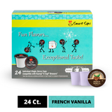 French Vanilla Coffee, Single Serve Cups for Keurig K-cup Brewers
