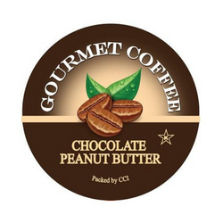 Chocolate Peanut Butter Gourmet Flavored Coffee, Flavored Coffee, Coffee, Smart Sips Coffee, Single Serve, kcup, k cup, k-cup, keurig, kosher, no sugar, no carb