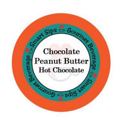 Chocolate Peanut Butter Hot Chocolate, Coffee, Smart Sips Coffee, Single Serve, kcup, k cup, k-cup, pod, pods, keurig, kosher, no sugar, no carb, gluten free