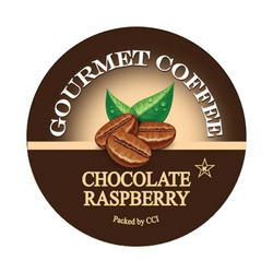 Chocolate Raspberry Gourmet Flavored Coffee, Flavored Coffee, Coffee, Smart Sips Coffee, Single Serve, kcup, k cup, k-cup, pod, pods, keurig, kosher, no sugar, no carb, gluten free