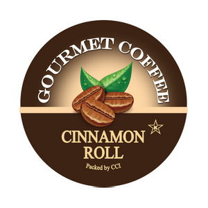 Cinnamon Roll Gourmet Flavored Coffee, Flavored Coffee, Coffee, Smart Sips Coffee, Single Serve, kcup, k cup, k-cup, pod, pods, keurig, kosher, no sugar, no carb, gluten free