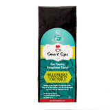 smart sips coffee ground flavored white chocolate hazelnut truffle