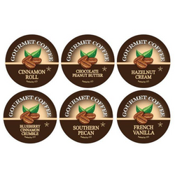 Flavor Lovers Variety Pack Gourmet Flavored Coffee, Flavored Coffee, Coffee, Smart Sips Coffee, Single Serve, kcup, k cup, k-cup, pod, pods, keurig, kosher, no sugar, no carb, gluten free
