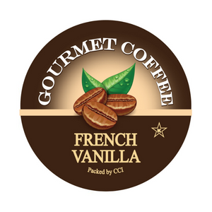 French Vanilla Gourmet Coffee, Flavored Coffee, Gourmet Coffee, Coffee, Single Serve Pods, pods, k cup, k-cup, kcup, keurig, Smart Sips Coffee