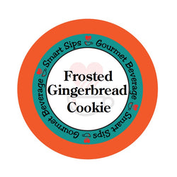 Smart Sips Coffee frosted gingerbread cookie gourmet coffee k-cup kcup keurig