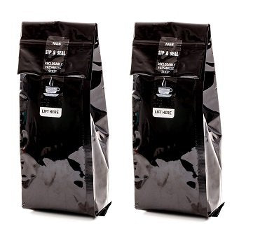 Decaf Chocolate Raspberry, Flavored Medium Roast Ground Gourmet Arabica Coffee