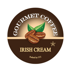 Irish Cream flavored gourmet coffee, Coffee, Smart Sips Coffee, Single Serve, kcup, k cup, k-cup, pod, pods, keurig, kosher, no sugar, no carb, gluten free