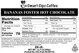 Bananas Foster Hot Chocolate, Gourmet Hot Cocoa Pods, for Keurig K-cup Brewers