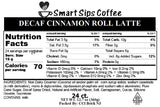 Decaf Cinnamon Roll Latte, For Keurig K-cup Brewers