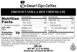 French Vanilla Hot Chocolate, 24 Count, Single Serve Cups Compatible With All Keurig K-cup Machines