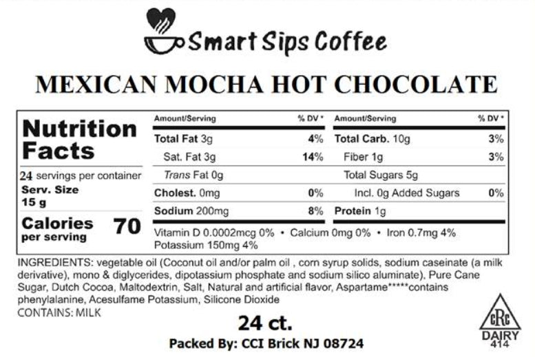 Mexican Mocha Gourmet Hot Chocolate, for Keurig K-cup Brewers