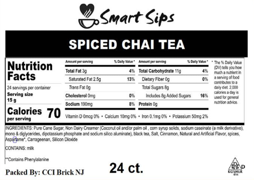 Spiced Chai Tea Latte, for Keurig K-cup Brewers