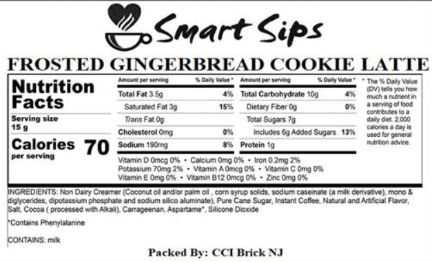 Frosted Gingerbread Cookie Latte, 24 Count, for Keurig K-cup Machines