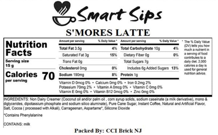 S'mores Latte, 24 Count, for Keurig K-cup Machines