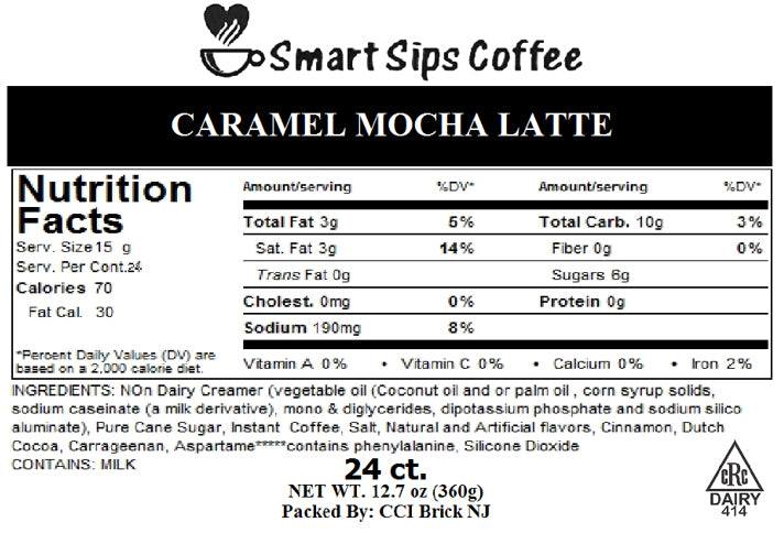 Caramel Mocha Latte, for Keurig K-cup Brewers