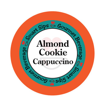 smart sips coffee almond cookie cappuccino keurig kcup
