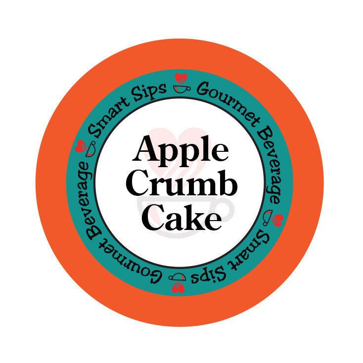 smart sips coffee apple crumb cake keurig kcup 24 count single serve cups